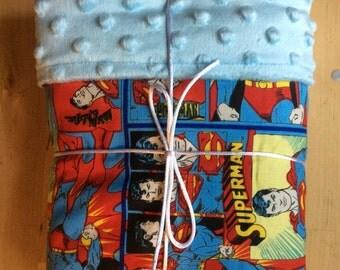 Superman baby blanket