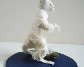 White hare miniature