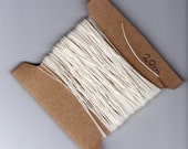 20 metres book binding thread in choice of 4 colours