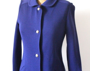 1960s Kimberly Virgin Wool Coat