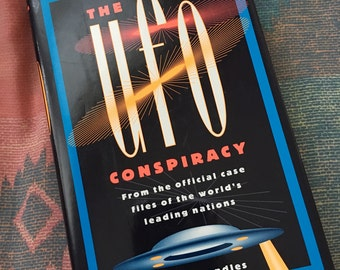 The UFO Conspiracy Jenny Randles 1993 Hardcover Book Aliens UFOs Space Conspiracies