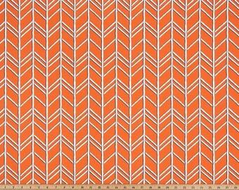 Orange Herringbone Curtains Monarch Bogatell  Rod Rocket  63 72 84 90 96 108 120 Long x 25 or 50 Wide