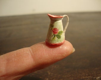 miniature for dollhouse  very small pitcher