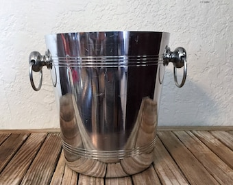 Vintage Silver French Vogalu Champagne Bucket