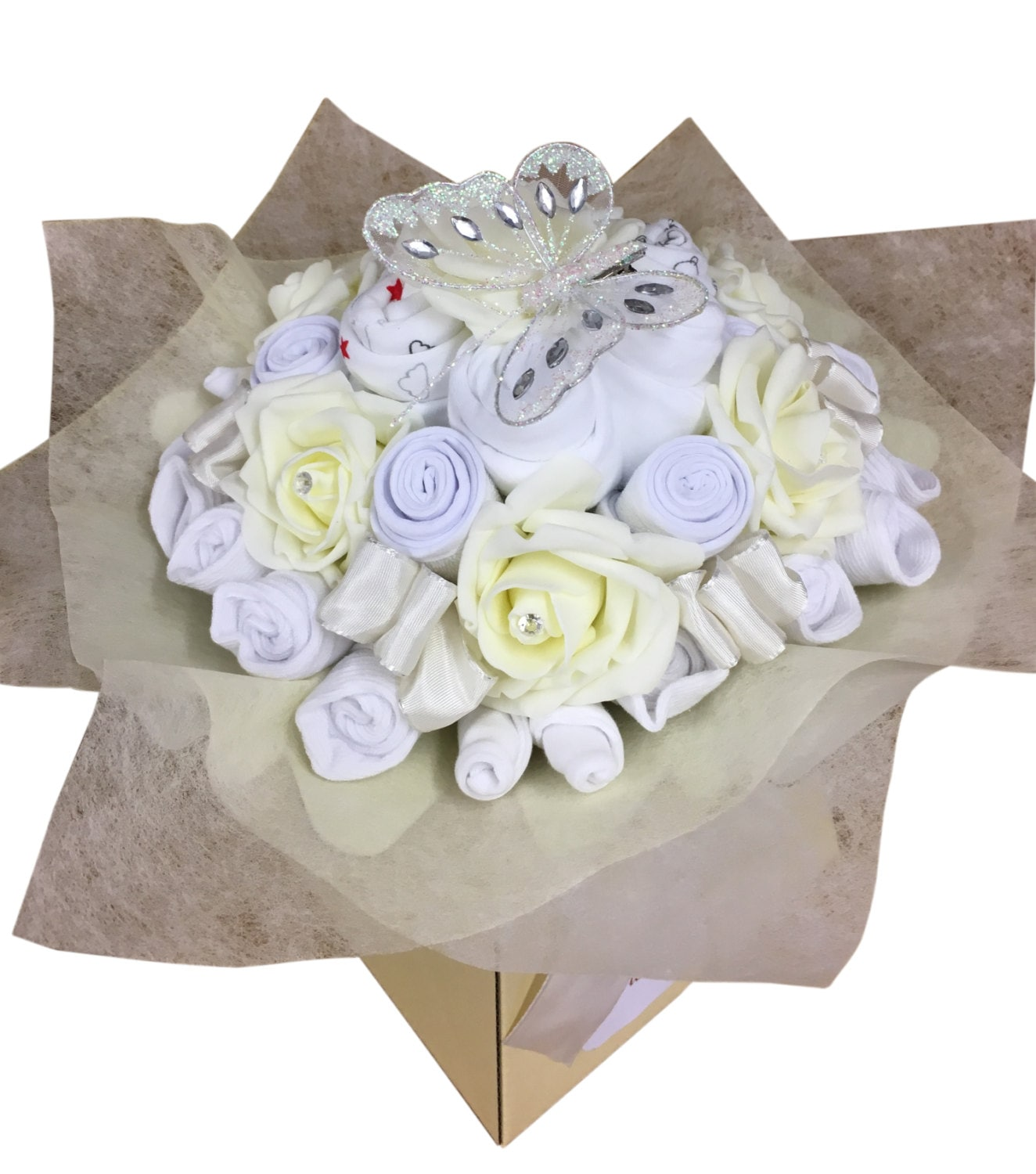 Baby Gift Bouquet New Zealand : New baby gift clothes bouquet shower