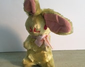 vintage plush easter bunny/stuffed animal toy/easter decor