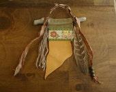 CUSTOM FOR REBEKAH - gypsy prayer flag