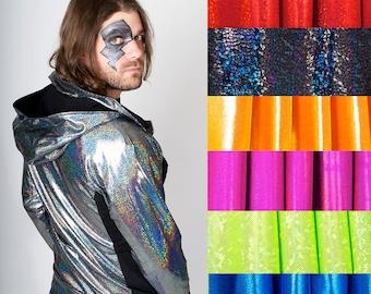 Men's COMPLETE CUSTOM Holographic Zip Hoodie