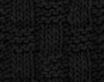 Katia Nomada Yarn - 109 yds/skein - Super Bulky Weight - 100% Merino Wool - Black