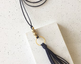 The Lessie Tassel Necklace