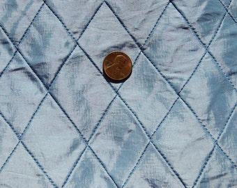 Blue - Pin Tucked Taffeta