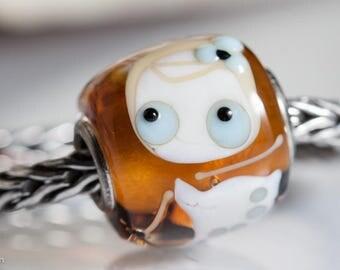 Small Core Artisan Lily Ladybug Bead SRA Lampwork Beads BHB