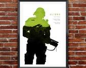 "Aliens Movie Poster 12X18"""