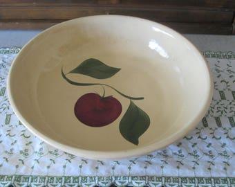 Apple Spaghetti Bowl Watt Pottery 39 Oven Ware
