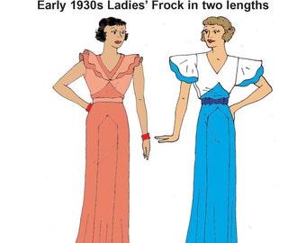 RH1318 — 1930s Gown