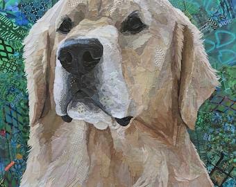 Custom Collage Pet Portrait