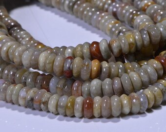Coprolite Beads Rondelle Beads Natural Gemstone Beads Jewelry Making Supplies