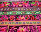 RESERVED FOR AKOSUA     Hmong Design Embroidered Textile