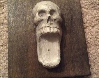 Skull Incense Burner / cone and stick incense burner / 5 AVAILABLE