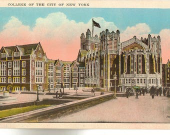 Vintage Postcard, College of the City of New York, Group of Buildings, ca 1920