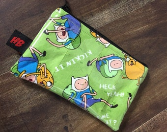 Handmade Adventure Time Change Purse