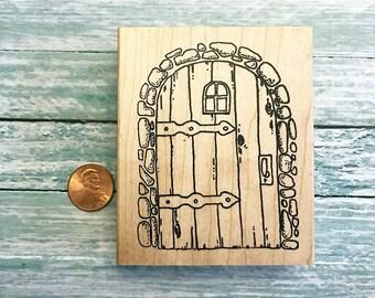 Front Door Rubber Stamp