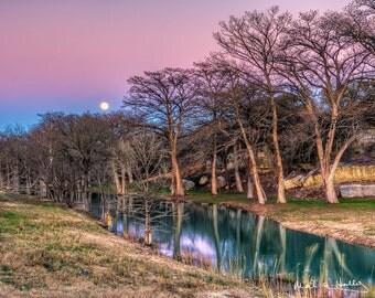 Turtle Creek Moonrise