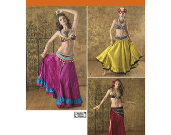 Belly Dancer Costume Pattern//Simplicity- Free Domestic Shipping