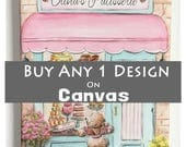 """Canvas Wall Art, 1.5"""" Thick Museum Wrapped Canvas, Custom Canvas Prints, For Nursery Or Kid's Room, Choose Any Design From Shop, Personalize"""