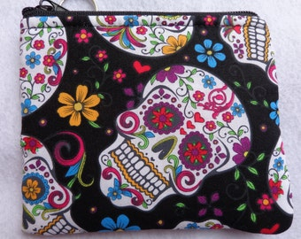 Coin Bag: Sugar Skull