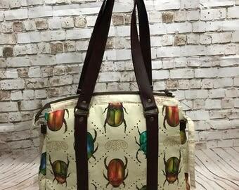 Beetle handbag Insect purse entomologist handbag