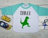 3rd Birthday Shirt; Third Birthday Shirt; Minimalist Birthday Shirt; Three; 3; Third Birthday Tee; Three Birthday Shirt; Hipster Birthday