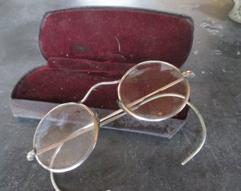 Antique Spectacles, Antique Eyewear, Spectacles, Steampunk, Photography Prop, Old Glasses