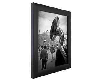 craig frames 12x36 inch modern black picture frame contemporary 1 wide 1wb3bk1236