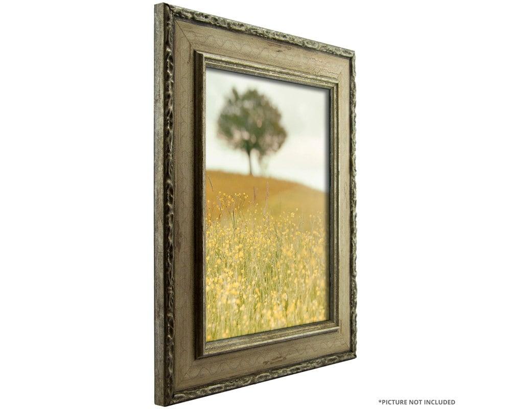 craig frames 12x12 inch antique silver picture frame. Black Bedroom Furniture Sets. Home Design Ideas