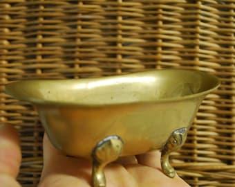 Antique SOLID BRASS BATH Tub