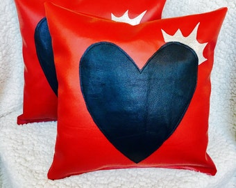 Love is King Throw Pillow