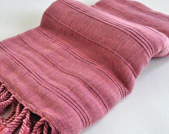 Turkey Beach and Bath Towel Multipurpose Vintage Inspired Handwoven Peshtemal Towel Soft