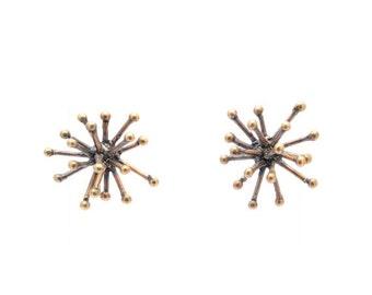 30% OFF// jacks earrings - bronze