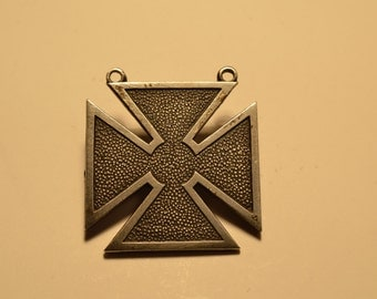 Sterling Silver Iron Cross Medal