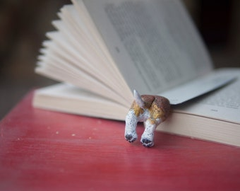 MYBOOKMARK // Beagle bookmark // Animal collection // Handmade and crafted with love // Back to school gift //