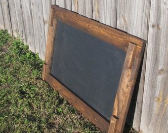 Rustic Chalkboard 26 x 40, Chalkboard Sign, Wedding Sign, Rustic Wedding, Framed Chalkboard