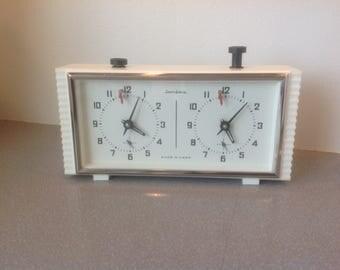 Vintage Russian Soviet chess clock working