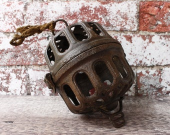 French Cast Iron Butchers String Dispenser...