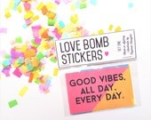 Love Bombs // Repositionable Stickers - Set One