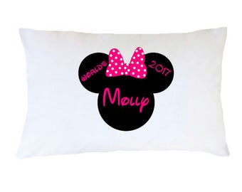 Personalized Pillowcase Worlds Cheer - Any color