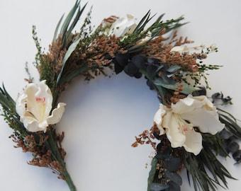 MONSERAT | Boho Bridal Headpiece Headband