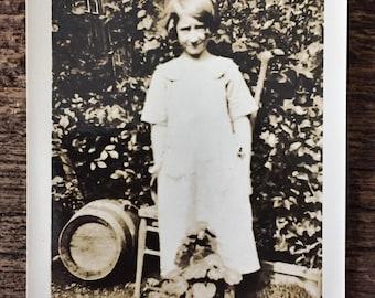 Original Vintage Photograph Little Lolly