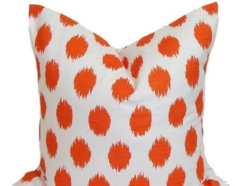 ORANGE PILLOW SALE.16x16 inch.Decorative Pillow Cover.Couch Pillow. Sofa Pillow. Accent Pillow. Throw Pillow. Bedding. Orange Cushion Cover