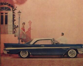 1957 CHRYSLER NEW YORKER 2-Door Hardtop Vintage Cars Original Vintage Ads Additional Ads Ship Free Ready To Frame